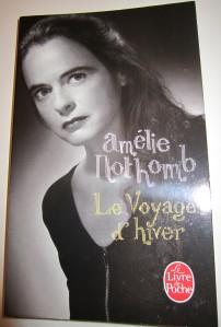 Voyage d'hiver, Amélie Nothomb, Challenge lire sous la contrainte