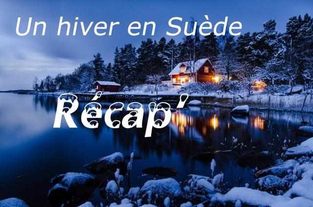 Le mois suédois, Challenge un hiver en Suède, Un hiver en Suède, Le billet récap