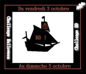La BD fait son marathon à bord du Vaisseau Fantôme, Marathon lecture, Halloween