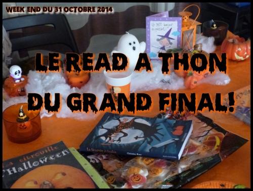Read-A-Thon Halloween, Read-A-Thon du grand final, Halloween