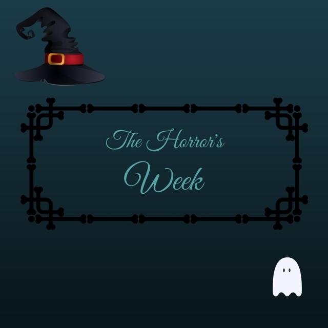 The week of horror, la semaine de l'horreur, fantôme, maison hantée, Halloween