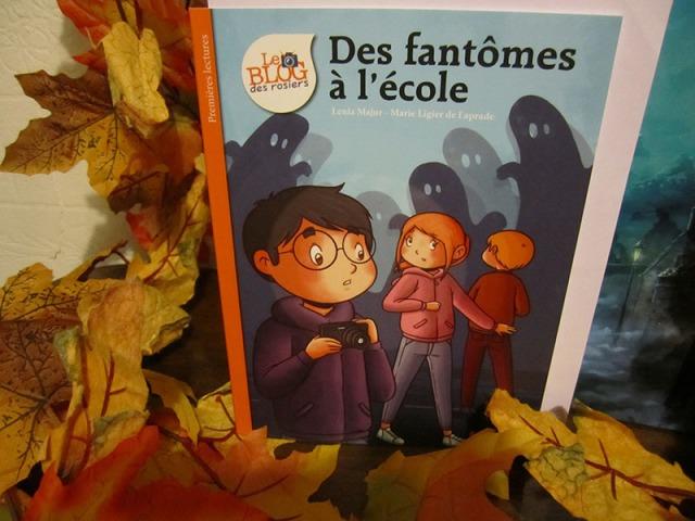 Des fantômes dans l'école, Halloween, RAT a Week de l'épouvante, Service Presse, Editions Hemma