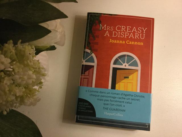Mrs Creasy a disparu, Joanna Cannon