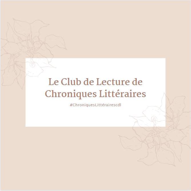 Club de lecture Chroniques Littéraires