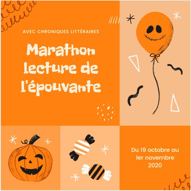 Marathon lecture de l'épouvante 2020, Halloween, Autumn, Horreur, Fantastique Chroniques Littéraires, RAT